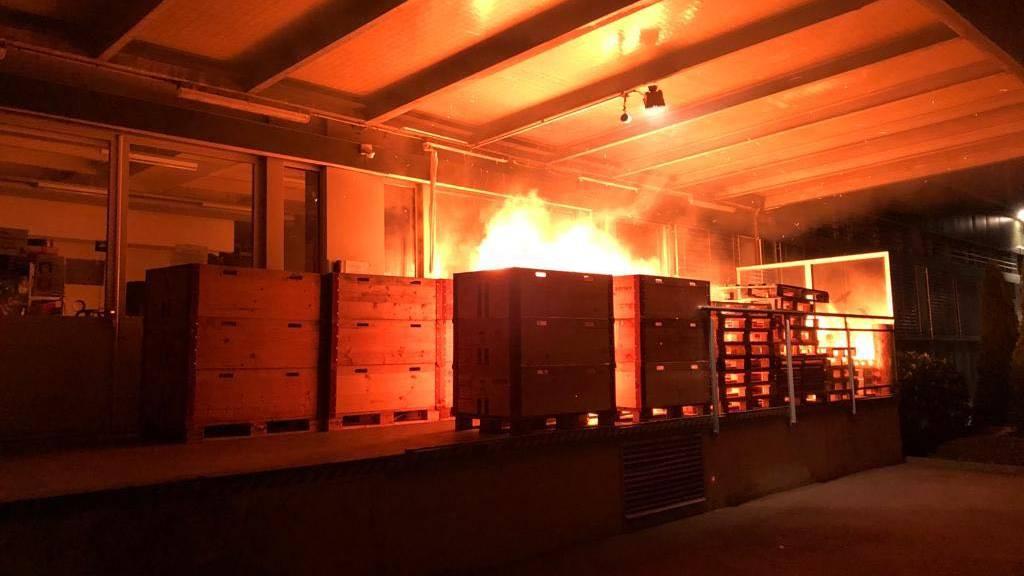 Mutmassliche Brandstifter ermittelt