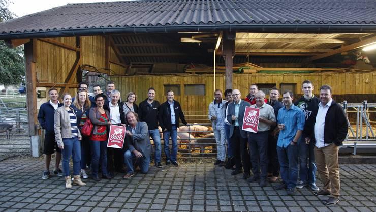 Die Solothurner Delegation auf dem Bronnehof