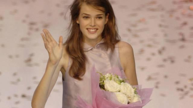 Im Oktober 2009 gewann Julia Saner den Modelwettbewerb Elite Model Look (Archiv)