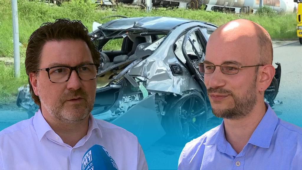 Raser-Hotspot Industriestrasse: Gemeinde Würenlingen hofft auf Polizei