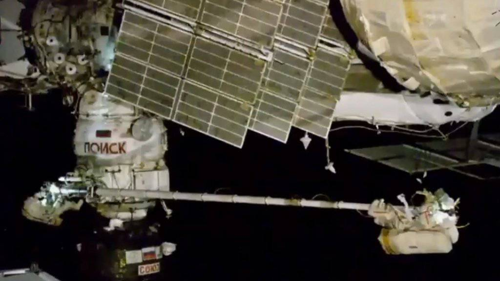 Drei Besatzungsmitglieder der Raumstation ISS sind am Donnerstagmorgen wieder sicher zur Erde zurückgekommen. (Archivbild)