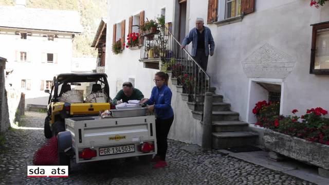 Bewohner von Bondo kehren in ihre Häuser zurück