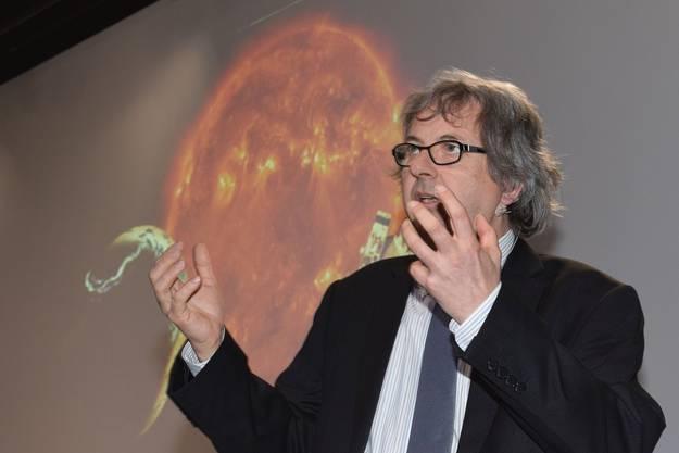André Csillaghy ist Leiter des Instituts für 4D-Technologien an der Fachhochschule Nordwestschweiz