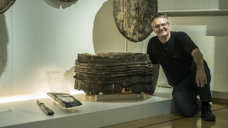 Urs Leuzinger leitet seit 21 Jahren das Archäologische Museum Thurgau.