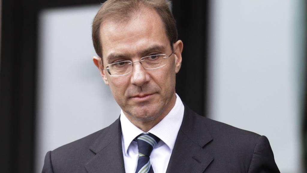Bei der Schweizerischen Bankiervereinigung (SBVg) kommt es zu einem Wechsel an der Spitze: Herbert Scheidt übergibt das Amt an Ex-UBS-Konzernchef Marcel Rohner. (Archivbild Rohners von 2013)