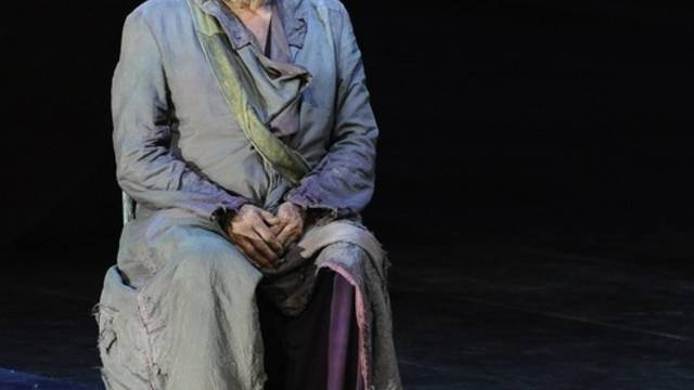Klaus Maria Brandauer als Oedipus in Salzburg