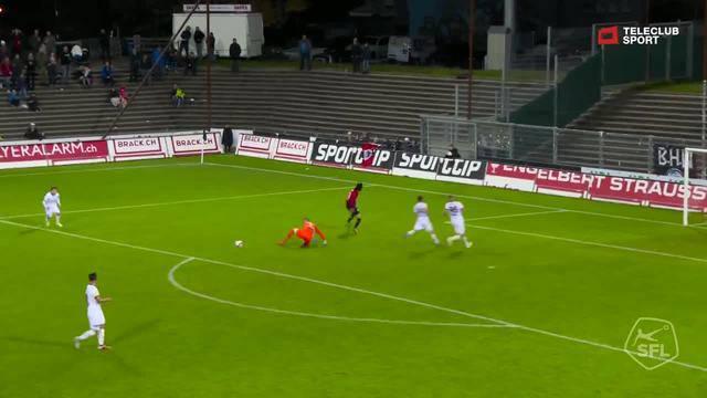 Challenge League 2018/19, Runde 12, FC Aarau - FC Wil, 2:0 von Varol Tasar