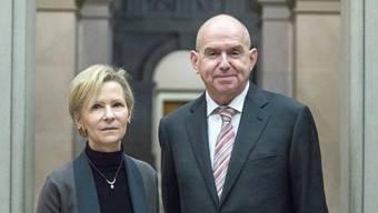 Die Spitze des Bundesgerichts: Ulrich Meyer (SP) und Vizepräsidentin Martha Niquille (CVP).