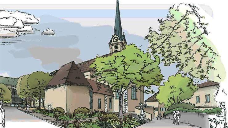 Blick auf Kirche würde «geöffnet».