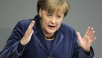 """Merkel schwört ihre Kollegen noch einmal auf ihre """"Stabilitätsunion"""" ein"""