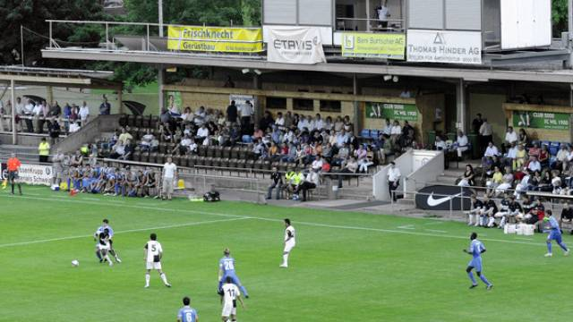 Das Bergholz, Heimstadion des FC Wil (Archiv)