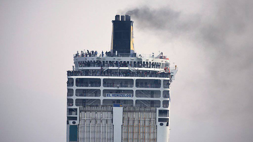 In Griechenland bleiben die Fähren in den nächsten beiden Tagen in den Häfen. Grund ist ein Streik der Seeleute. (Archiv)