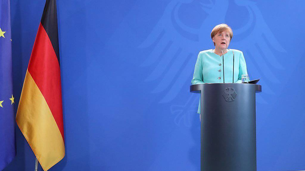 «Die Europäische Union ist stark genug, um die richtigen Antworten auf den heutigen Tag zu geben»: Mit diesen Worten kommentiert die deutsche Bundeskanzlerin Angela Merkel die Brexit-Abstimmung.