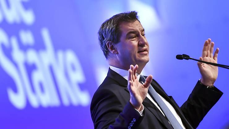 Markus Söder ist der neunte Parteichef in der Geschichte der CSU. Der Sonderparteitag wählte ihn am Samstag mit 87,4 Prozent der Stimmen zum Nachfolger von Horst Seehofer.