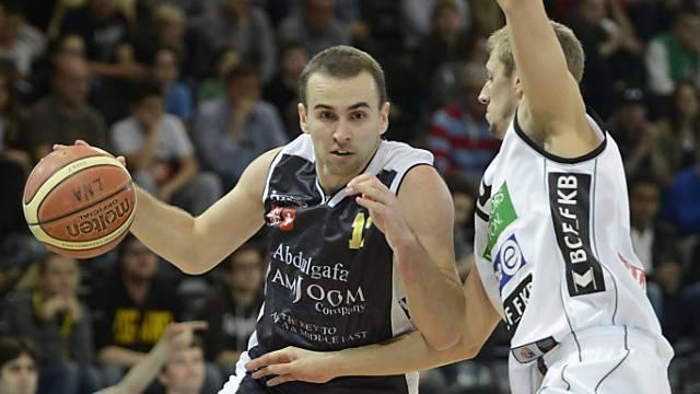 Dusn Mladjan traf mit 13 Punkten mit Bruder Marko am meisten.