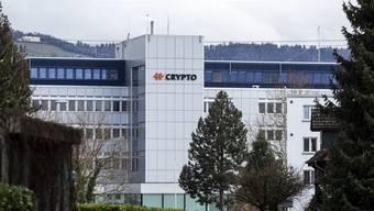 Der Hauptsitz von Crypto in Steinhausen.