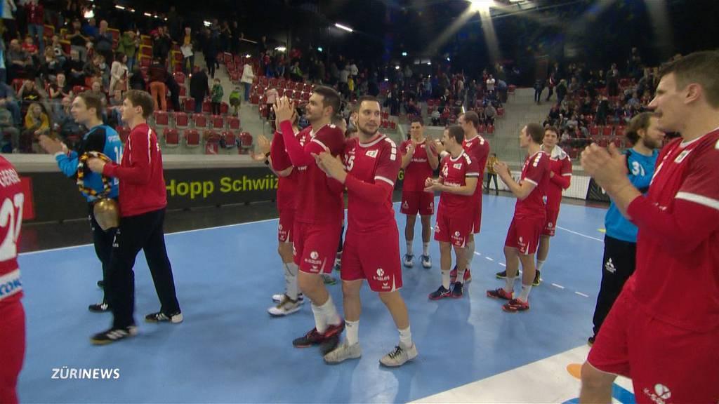 Nach 14 Jahren wieder an EM: Schweizer Handball-Nati ist guter Dinge