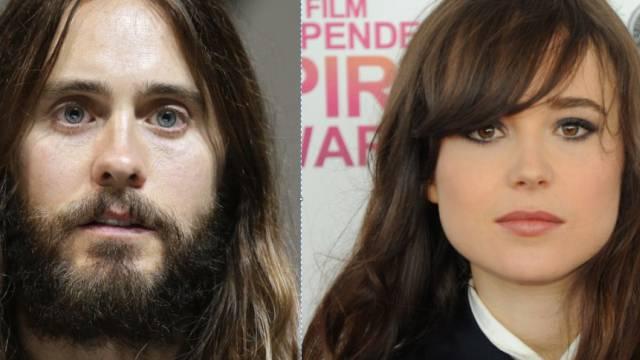 Grünfutter macht sexy: Jared Leto (l) und Ellen Page (Archiv)