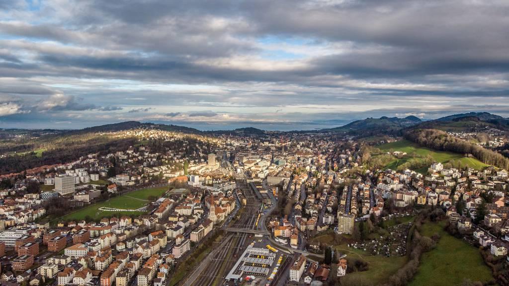 Die Stadt St.Gallen war am Morgen sechs Minuten ohne Strom