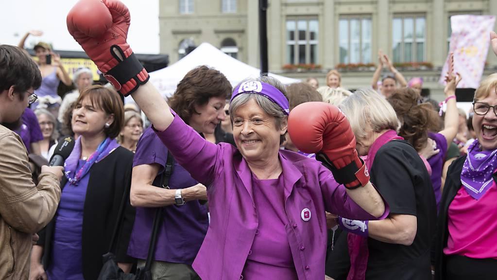 Die am Sonntag nicht mehr zur Wiederwahl angetretene SP-Nationalrätin Margret Kiener Nellen hat bis vor Bundesgericht gekämpft und muss sich jetzt geschlagen geben. (Archivbild)