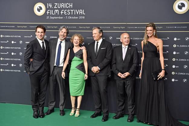 Am Eröffnungsabend des ZFF ist jeder der Rang und Namen in Zürich hat dabei.