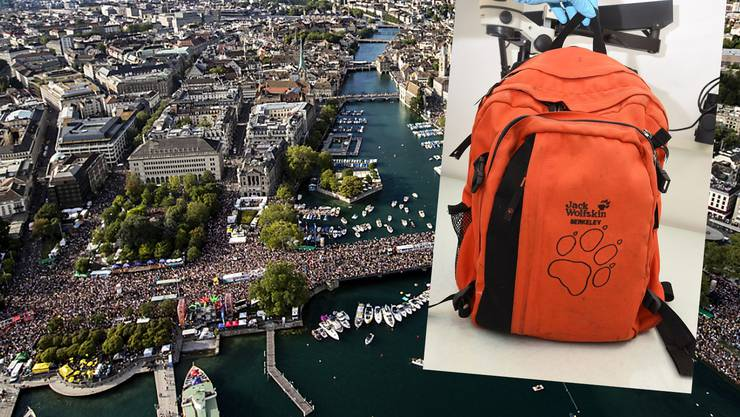 Ein Deutscher hat laut Angaben der Kantonspolizei Zürich vom Montag an der diesjährigen Street Parade einen Rucksack mit Rohrbomben-Attrappen platziert.