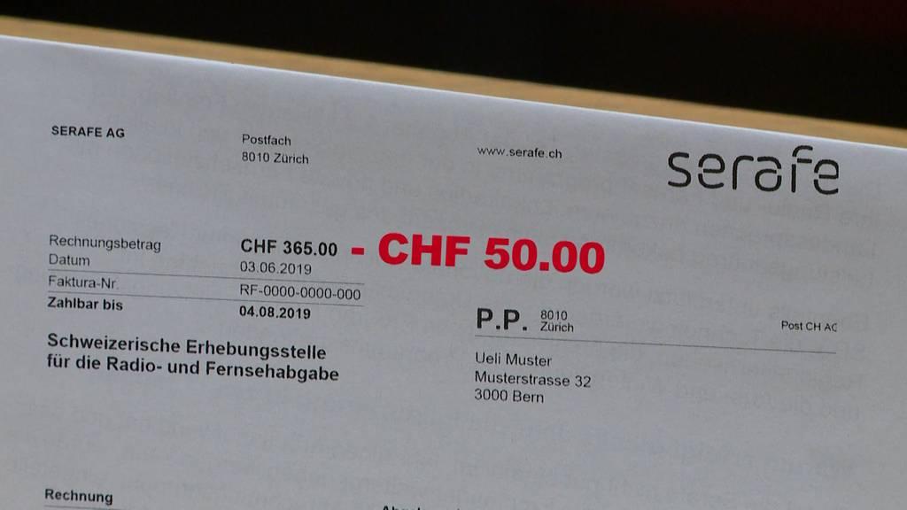 Billag-Mehrwertsteuer: 50 Franken werden retourniert
