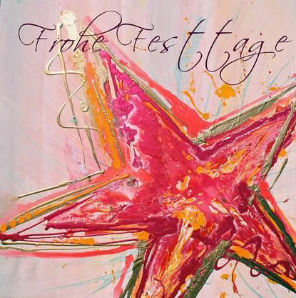Die Weihnachtskarte «Falling Star»