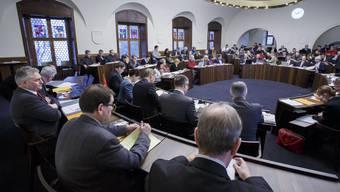 Der Gemeinderat Solothurn darf im Kantonsratssaal tagen – mit der Einhaltung der Abstandsregeln. (Archivbild)