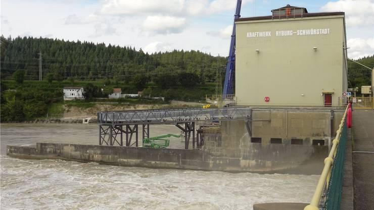 Gehören der AEW Energie AG bald Anteile des binationalen Rheinkraftwerks Ryburg-Schwörstadt? Walter Christen