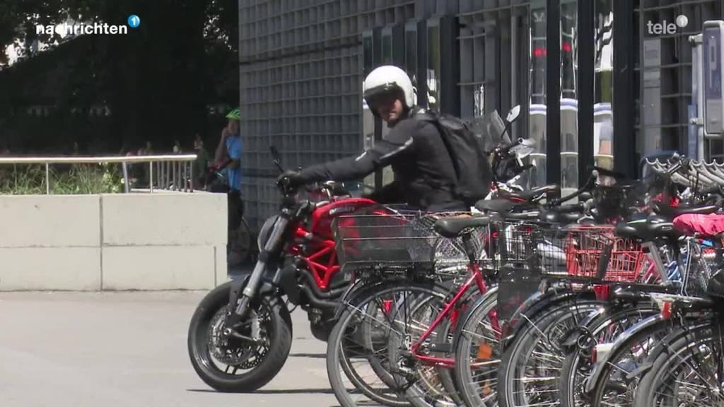 Parkgebühren für Motorräder