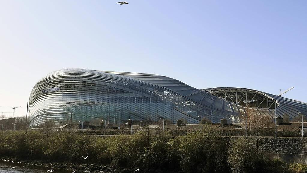 Das Aviva Stadium in Dublin wird in diesem Sommer keine EM-Spiele beheimaten.