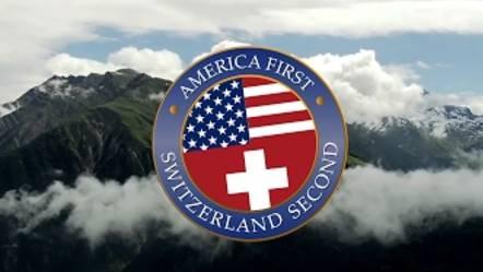 SWITZERLAND SECOND  #everysecondcounts: Auch die Schweiz empfiehlt sich dem US-Präsidenten.