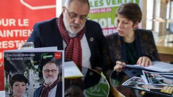 Lisa Mazzone (Grüne) und Carlo Sommaruga (SP) wollen in den Ständerat.