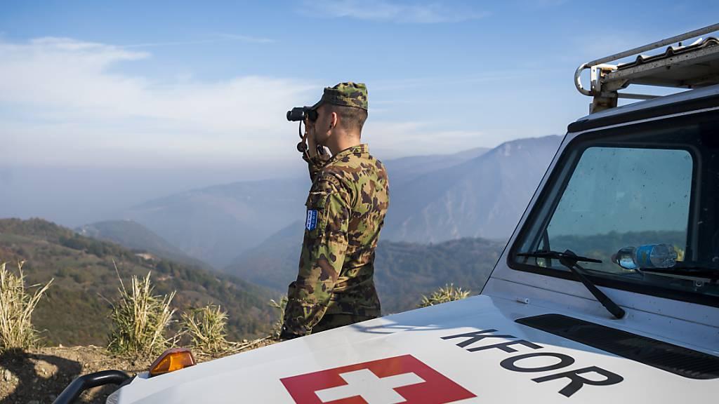 Nationalrat heisst Verlängerung des Swisscoy-Einsatzes gut