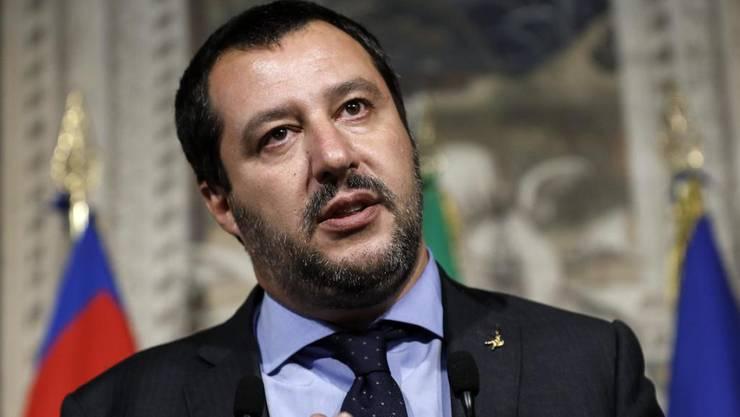 Der neue italienische Innenminister Matteo Salvini. (Archivbild)