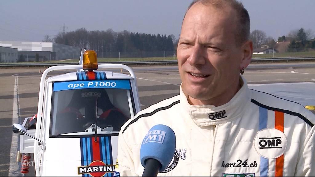 Verrückte Idee: Hannes Roth entwickelt einen dreirädrigen Rennwagen