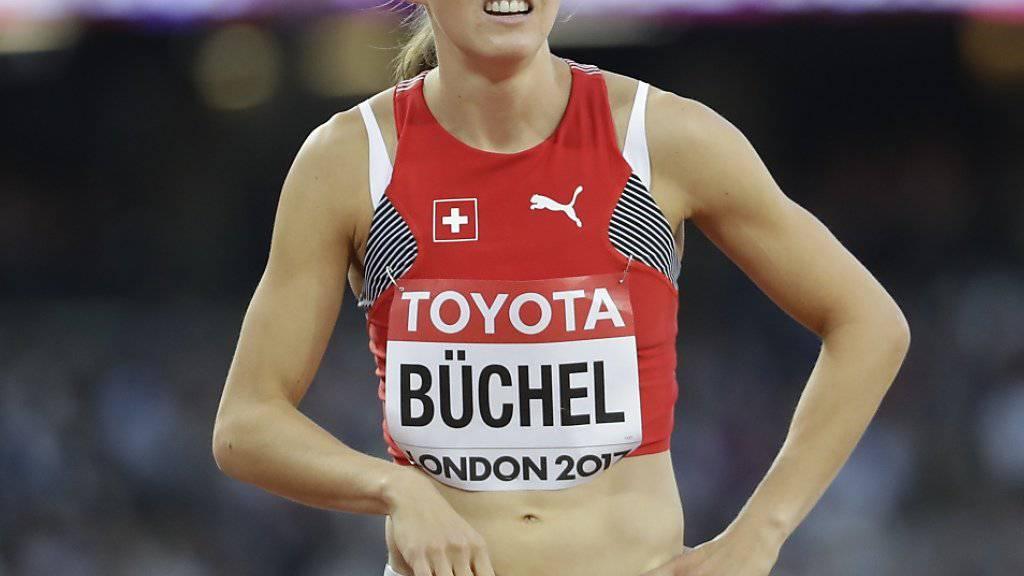 Selina Büchel verpasst am Diamond-League-Meeting in Birmingham einen Podestplatz knapp