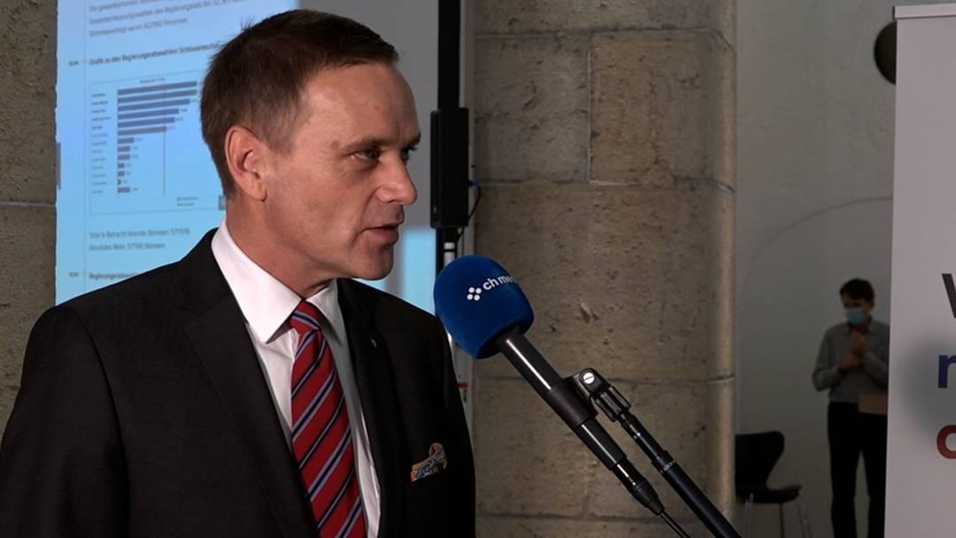 Gesundheitsminister Gallati im Interview mit AZ-Aargau-Chef Fabian Hägler