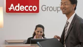 Empfang am Hauptsitz der Adecco Group in Glattbrugg (Archiv)