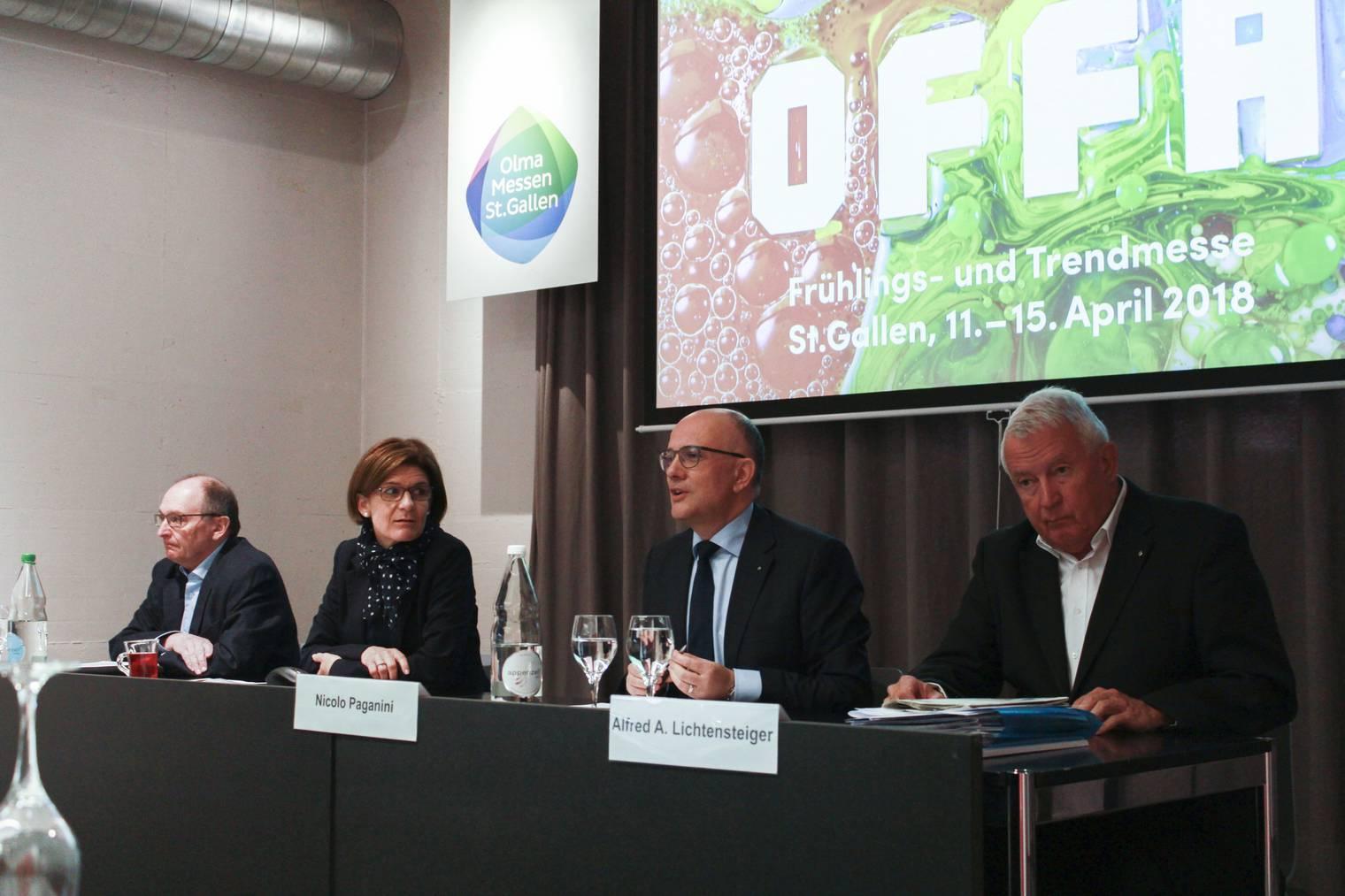 Das bunte OFFA-Plakat soll symbolisch für den Frühling stehen. (Bild: FM1Today/Dario Brazerol)