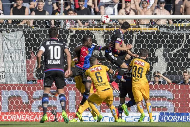 Mohamed Elyounoussi erlöste den FC Basel.