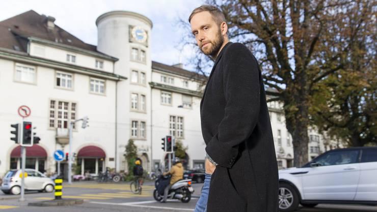 Zwei Brüder auf Sauftour, mäandernde Gedanken, ein spazierender Autor: Heinz Helle (40).