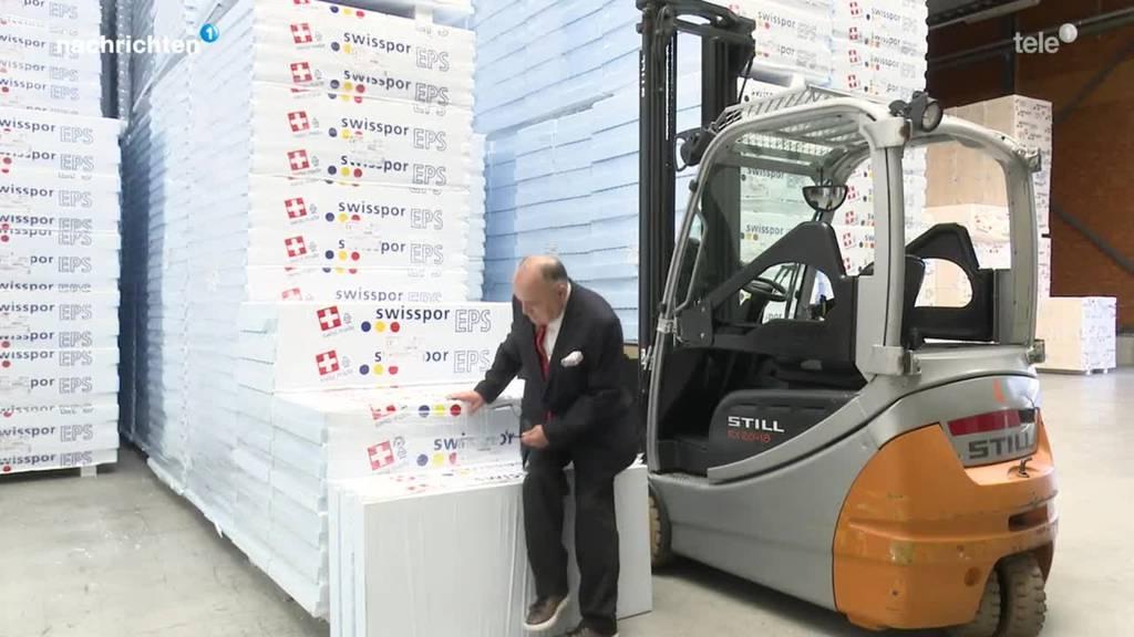Die Firma Swisspor kauft ZZ Wancor