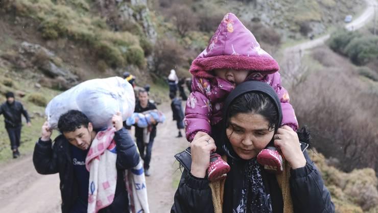Diese Flüchtlinge haben es nach Griechenland geschafft – im Gegensatz zu vielen anderen.