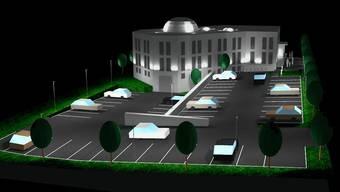 Visualisierung der Grenchner Moschee.