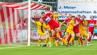 Nachdem Delémont in extremis besiegt wurde, stellt sich dem FC Baden nun Bavois als letzte Hürde auf dem Weg zum Aufstieg in die Promotion League.