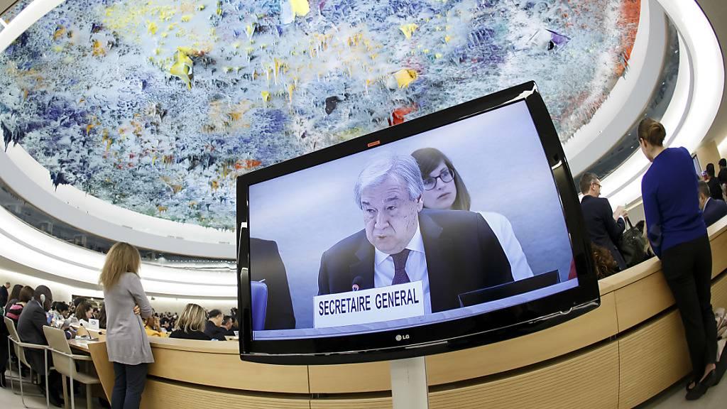 Uno-Chef Guterres tief besorgt über Aushöhlung der Menschenrechte