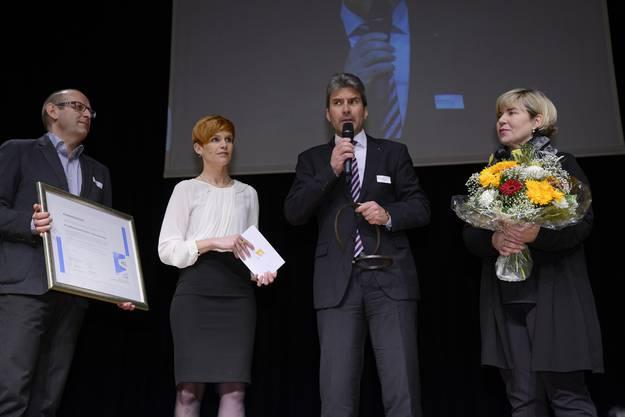 Roger Schnellmann, Sandra Boner, Daniel Borer und Katja Rothenbühler