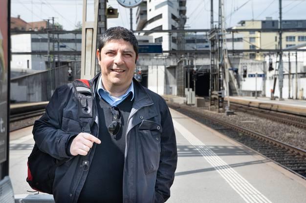 Giuseppe Boscarelli (49), RAV-Mitarbeiter, aus Suhr.